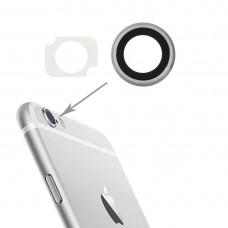 10 Pairs / Set Rear Camera Lens Ring + Flashlight Bracker for iPhone 6 Plus & 6s Plus (Silver)