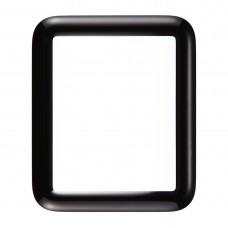 Front Screen Outer Glass Lens for Apple Watch Series 1 42mm (Black)