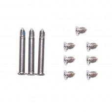 10 in 1 for Macbook Pro 13.3 inch A1278 / 15.4 inch A1286 / 17 inch A1297 Computer Case Bottom Cover Screws (3 PCS Long + 7 PCS Short)