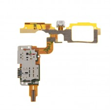 Charging Port Flex Cable + SIM Card Reader Contact  for vivo X5Max V & X5Max +