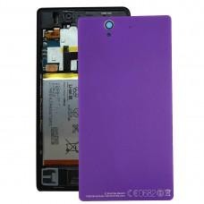 Aluminium  Battery Back Cover for Sony Xperia Z / L36h(Purple)