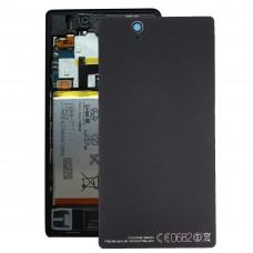 Aluminium  Battery Back Cover for Sony Xperia Z / L36h(Black)