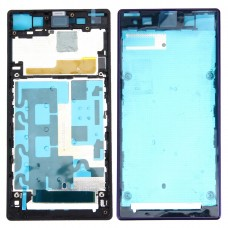 Front Housing LCD Frame Bezel Plate  for Sony Xperia Z1 / C6902 / L39h / C6903 / C6906 / C6943(Purple)