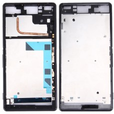 Front Housing LCD Frame Bezel Plate  for Sony Xperia Z3 / L55w / D6603(Black)