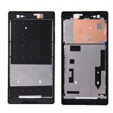 Front Housing  with Adhesive Sticker for Sony Xperia T2 Ultra(Black)