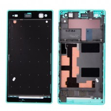 Front Housing  with Adhesive for Sony Xperia C3(Green)