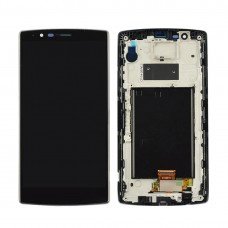 (LCD + Frame + Touch Pad) Digitizer Assembly for LG G4 H810 H811 H815 H815T H818 H818P LS991 VS986 (Black)