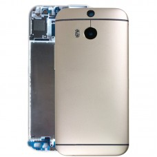 Back Housing Cover for HTC One M8(Gold)