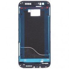 Front Housing LCD Frame Bezel Plate  for HTC One M8(Black)