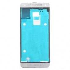 Front Housing LCD Frame Bezel Plate  for HTC One mini M4(White)