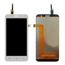 LCD Screen and Digitizer Full Assembly for Lenovo A8 / A806 / A808T(White)