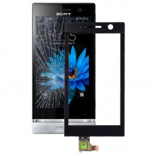 Version Touch Panel for Sony ST25i(Black)