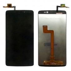 LCD Screen and Digitizer Full Assembly for 5.5 inch Alcatel One Touch Idol 3 / 6045