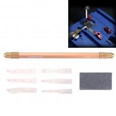 8 in 1 BGA Repair Blade Set Chip Disassembly Tool