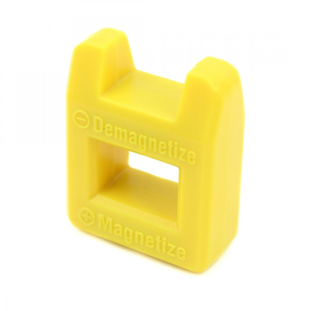 JF-8145 Magnet + Plastic Repairing Tool Filling Demagnetization Devices(Yellow)