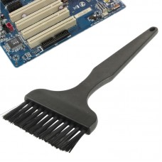 Electronic Component 12 Beam Flat Handle Antistatic Cleaning Brush, Length: 17cm(Black)