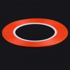 1mm width 3M Double Sided Adhesive Sticker Tape for iPhone / Samsung / HTC Mobile Phone Touch Panel Repair, Length: 25m(Red)