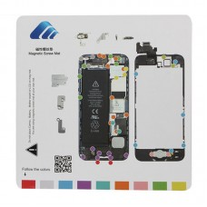 20cmx 20cm Magnetic Screws Mat for iPhone 5