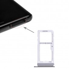 2 SIM Card Tray / Micro SD Card Tray for Galaxy Note 8(Black)