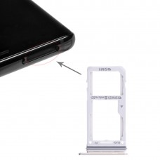 2 SIM Card Tray / Micro SD Card Tray for Galaxy Note 8(Gold)