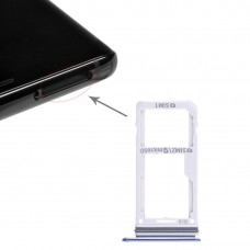 2 SIM Card Tray / Micro SD Card Tray for Galaxy Note 8(Blue)