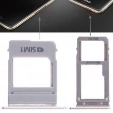 2 SIM Card Tray + Micro SD Card Tray for Galaxy A520 / A720(Gold)