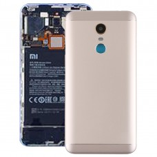 Back Cover with Camera Lens & Side Keys for Xiaomi Redmi 5 Plus(Gold)