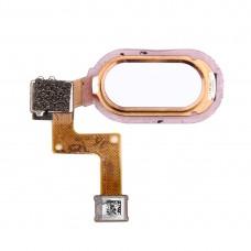 For Vivo X7 Fingerprint Sensor Flex Cable(Rose Gold)