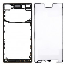 Front Bezel  for Sony Xperia Z5 (Single SIM Card Version) (Black)