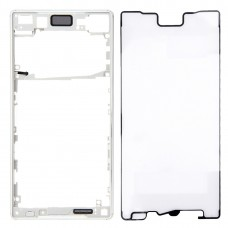 Front Bezel  for Sony Xperia Z5 (Single SIM Card Version) (Silver)