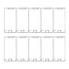10 PCS for Sony Xperia XZ Premium Front Housing Adhesive