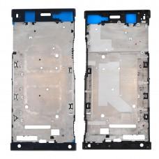 Front Housing LCD Frame Bezel Plate for Sony Xperia XA1 Ultra (Black)