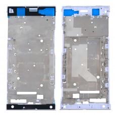 Front Housing LCD Frame Bezel Plate for Sony Xperia XA1 Ultra (White)