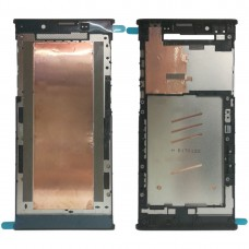 Front Housing LCD Frame Bezel for Sony Xperia L1 (Black)
