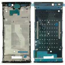 Front Housing LCD Frame Bezel for Sony Xperia XA2 Plus(Gold)
