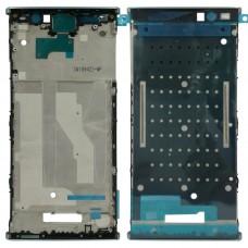 Front Housing LCD Frame Bezel for Sony Xperia XA2 Plus(Blue)