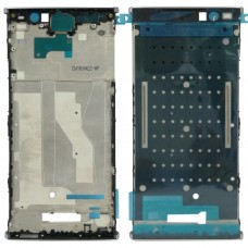 Front Housing LCD Frame Bezel for Sony Xperia XA2 Plus(Silver)