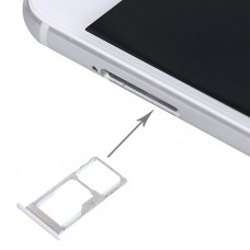 For Meizu Pro 5 SIM + SIM / Micro SD Card Tray(Silver)