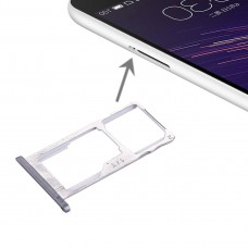 For Meizu Meilan Metal SIM + SIM / Micro SD Card Tray(Grey)