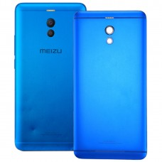 Aluminum Alloy Battery Back Cover for Meizu M6 Note(Blue)