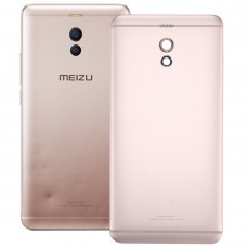 Aluminum Alloy Battery Back Cover for Meizu M6 Note(Rose Gold)