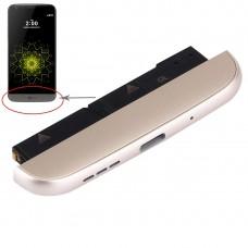 (Charging Dock + Microphone + Speaker Ringer Buzzer) Module for LG G5 / F700S, Kr Version(Gold)
