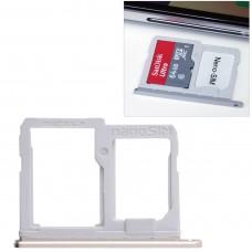 SIM Card Tray + Micro SD Card Tray for LG Q6 / M700 / M700N / G6 Mini(Gold)