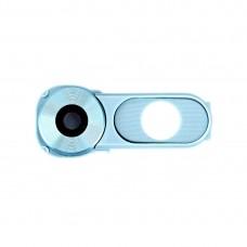 Back Camera Lens Cover + Power Button for LG V10 / H986 / F600(Baby Blue)