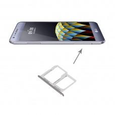 SIM Card Tray + Micro SD / SIM Card Tray for LG X Cam / K580(Silver)