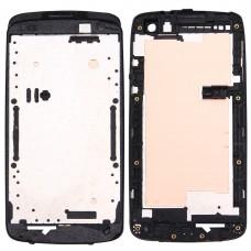 Front Housing LCD Frame Bezel Plate for HTC Desire 500(Black)