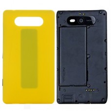 Back Cover for Nokia Lumia 820(Yellow)