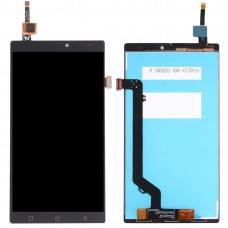 LCD Screen and Digitizer Full Assembly for Lenovo K4 Note / A7010 (Black)