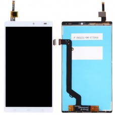 LCD Screen and Digitizer Full Assembly for Lenovo K4 Note / A7010 (White)