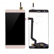 LCD Screen and Digitizer Full Assembly for Lenovo K5 Note(Gold)